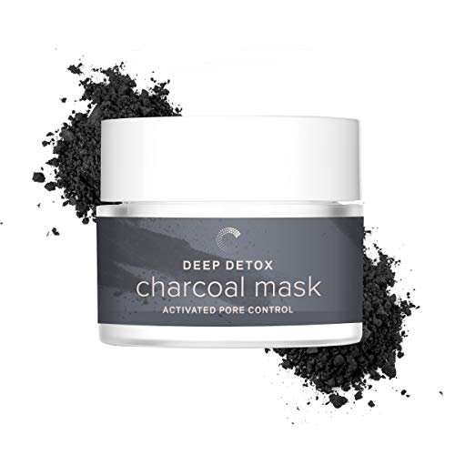 Cosmedica Skincare Deep Detox Activated Charcoal Clay Mask - New! Face mask to target enlarged pores, reduce blackheads, oily skin and uneven skin tone and dark spots from acne or ()