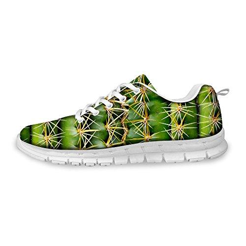 Freewander Unisex Lightweight Mesh Running Shoes Sport Shoes 3D Printed Sneaker