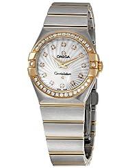 Omega Women's 123.25.27.60.55.002 Constellation Diamond Bezel Watch by Omega