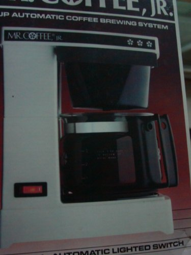 Mr. Coffee, Jr. Model# JR4 4-cup automatic coffee maker (Used)