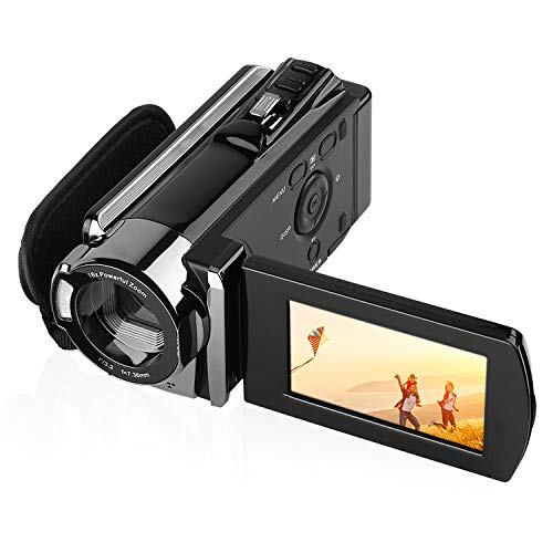 GordVE HD 1080P 16MP Digital Camera, 3.0 Inch LCD High Definition Video Camera Camcorder, 16X Digital Zoom Camcorder