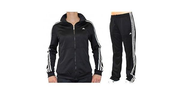 Adidas Sport-ocio-Chándal para mujer Diana suit , Black/White ...