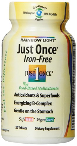 Just Once Multivitamin Iron - 9