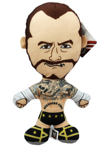 WWE CM Punk Brawlin Buddies Plush Doll by KD