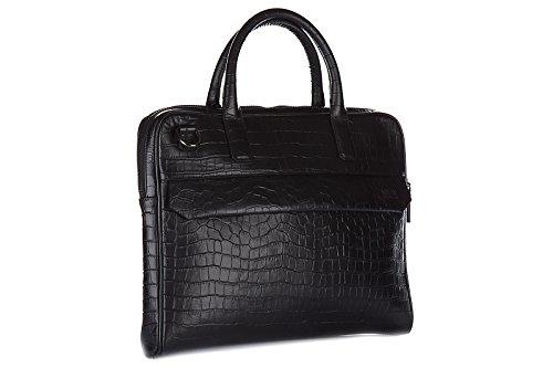 Armani Collezioni / Jeans Aktentasche Tasche Dokumententasche Laptoptasche Leder