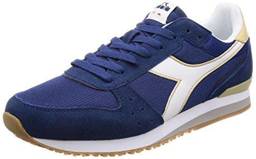 Diadora Herren Malone Sneaker Blau (Blu Estate Beige Corda)