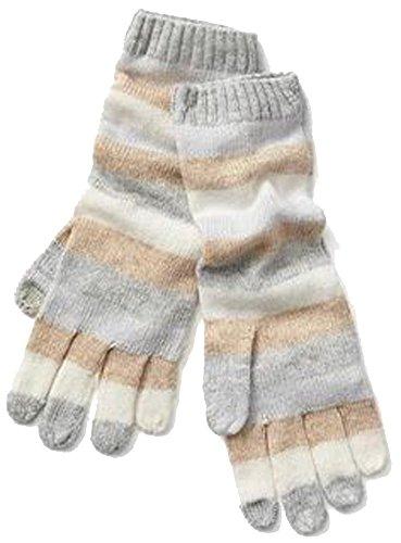 y Stripe Merino Wool Blend Smartphone Gloves ()
