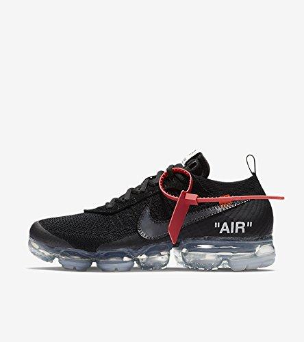 Off-White x Nike Air VaporMax   Black  (オフホワイト X エア ヴェイパーマックス   ブラック   THE TEN)#AA3831-002 B07BYMJVQW