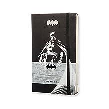 Moleskine Batman Notebook: Black, Large, Plain Hardcover by Moleskine