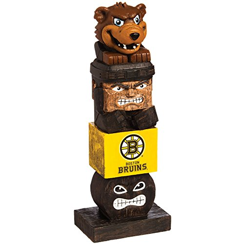NHL Mascot Boston Bruins Hockey Team Pride Decorative Lucky Tiki - Massachusetts Outlet