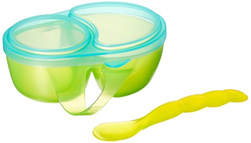 Sassy 1st Solids Feeding Bowl with Spoon, Assorted Colors (Baby Sassy Feeding)