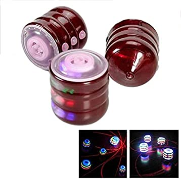 DishyKooker Glowing Gyro Música Colorida Spinning LED Lámpara Luz ...
