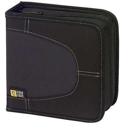- CASE LOGIC CDW-32BLACK Nylon CD Wallets (32 Disc)