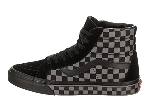 Vans Unisex Sk8-Hi Reissue (C&P) Skate Shoe Black/Pewter/Checkerboard DWB3qf