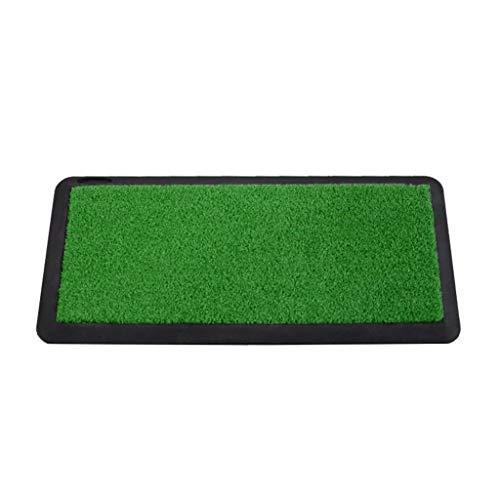 DQMSB Golf Rubber Non-Slip Mat Indoor and Outdoor Swing Rod Practice Mat 0.25 X 0.54m Exercise mats