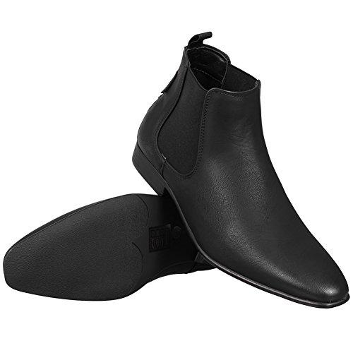 Ben Sherman Fashion Chelsea stivali in pelle da uomo stivali Comprar Barato Pago Con Visa Cómodo Para La Venta xlsq2T