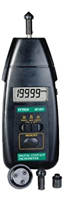 Extech Instruments Tachometer with Nist