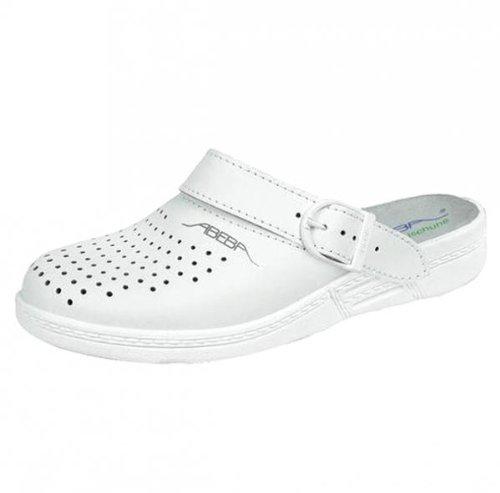 Abeba 7020-37 The Original Chaussures sabot Taille 37 Blanc