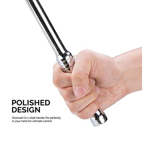 Neiko 00206A 1/2 Inch Drive Premium Breaker Bar, 24'' Length | Cr-V Steel by Neiko (Image #3)