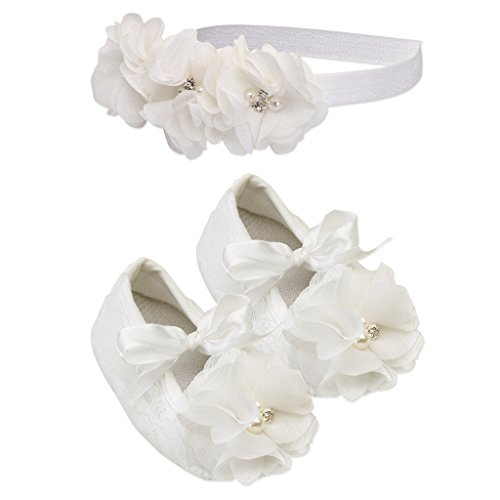 Petals Ivory Baptism Christening Headband product image