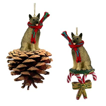 Norwegian Elkhound Christmas Ornament Gingerbread Dog Ornament New