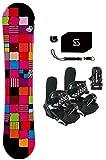 139-142cm Sionyx Quilt Snowboard & Symbolic