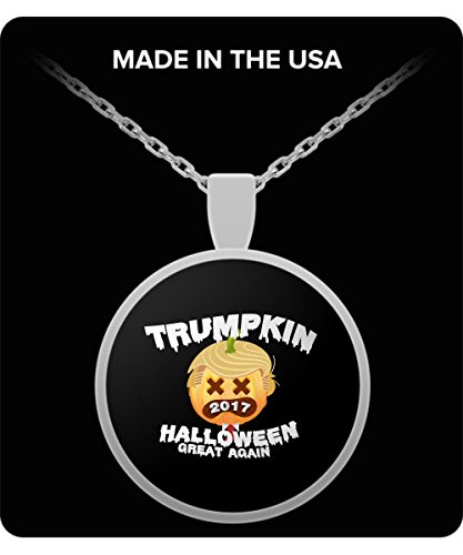 Pumpkin Trumpkin 2017 Make Halloween Great Again Gift Necklace ()