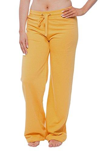 Yellow Womens Pajamas - 7