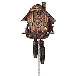 Schneider Black Forest 11 Inch 8 Day Movement Cuckoo Clock