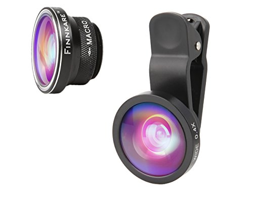 3 in 1 Clip On Fisheye Wide Angle Macro Lens kit for Cell Phone - 6