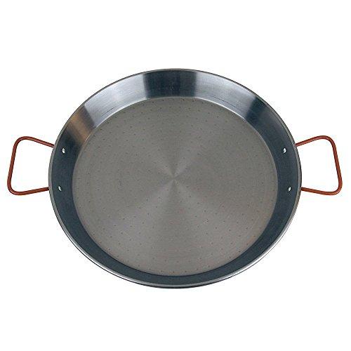 MageFesa Carbon Steel Paella Pan, 13.5 Inch by Magefesa
