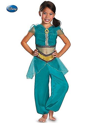 Jasmine Sparkle Classic Costume - Medium - Jasmine Classic Toddler Costumes