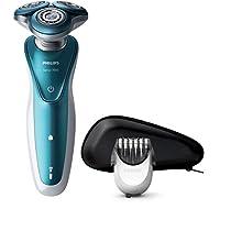 Philips S7370/41 Serie 7000 - Rasoio Elettrico Aquatec Wet and Dry con Lame Gentleprecision,Testina Dynamicflex 5 Direzioni e Ghiere con Tecnologia Comfort + Regolabarba 5 Lunghezze