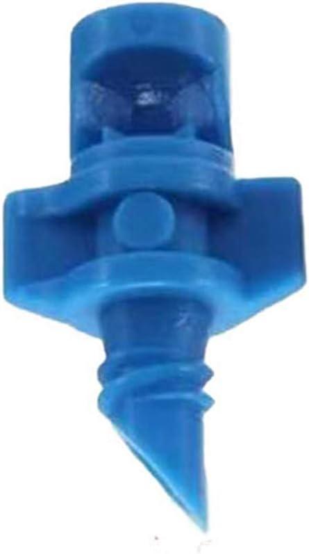 riego hidrop/ónico 21 mm azul pulverizador sistema de riego Cozyhoma 50 pcs 360 grados Micro pulverizador de agua pulverizadora de jard/ín c/ésped refracci/ón autom/ática de goteros