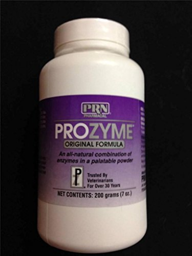Prozyme All-Natural Enzyme Dietary Food Supplement Powder (Prozyme Dogs)