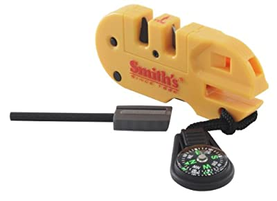 Smiths 50364 Pocket Pal X2 Sharpener & Outdoors Tool from Smith's Consumer Products