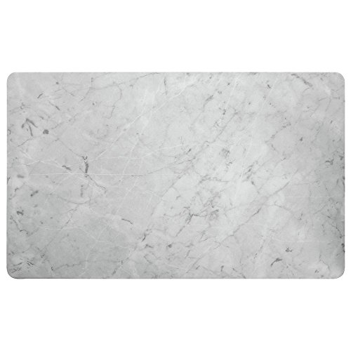 Marble Look Cold Food Bar Tile Full Size Melamine - 21'' L x 12 3/4 W by Hubert