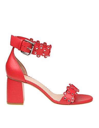 Red Valentino Sandalias de Vestir Para Mujer Rojo Rojo It - Marke Größe