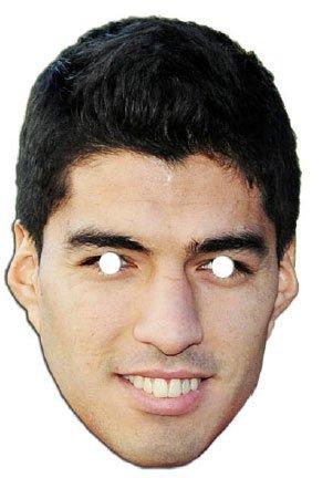 Luis Suarez Liverpool FC Face Mask (máscara/careta)