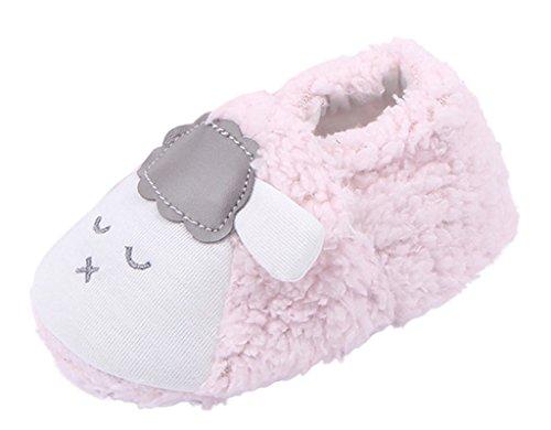 V-SOL Zapato Zapatilla Shoe de Invierno Forma de Oveja para Bebé