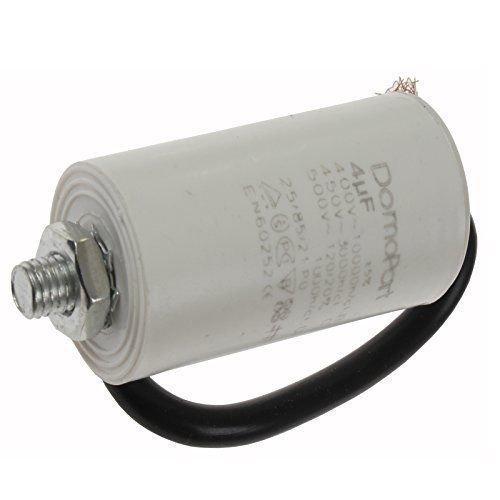 Find A temperatura 4UF Microfarad Motor Run inizio condensatore con cavo Find A Spare