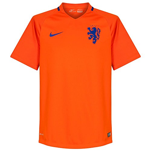Nike Netherlands Home Stadium Soccer Jersey (Small) - Shirt Netherlands 2016