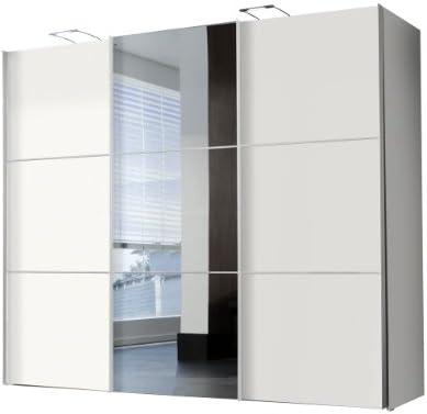 Solutions 46355 – 195 – Armario de Puertas correderas B/H/T 300 x ...