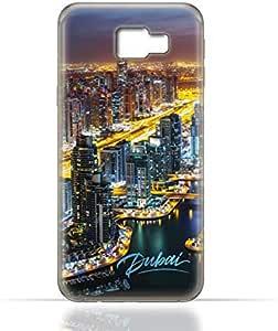 Samsung Galaxy C5 TPU Silicone Case with Dubai Marina Design