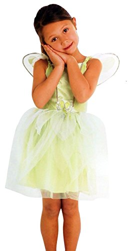 Rimi Hangers Girls Pixie Princess Fairy Costume Childrens Sparkle Magic Fancy Dress Party Outfit 11-12 -