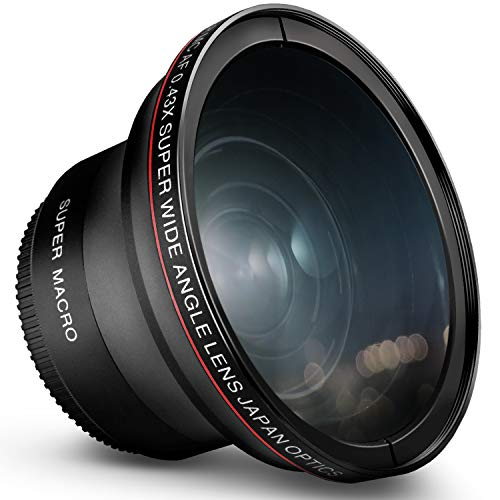 58MM 0.43x Altura Photo Professional HD Wide