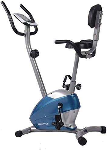 LSYOA Magnético Vertical Bicicleta Estática, Fitness Bicicleta ...