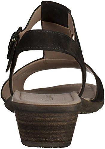 Ladies Gabor Sandals 44.541 Black VE3PfAufjp