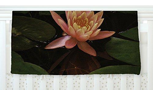 KESS InHouse Nick Nareshni Lily Pad Flower Coral Green Fleece Baby Blanket 40 x 30 [並行輸入品]   B077YZWM2Z