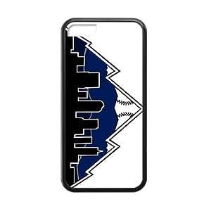 meilz aiaiQQQO colorado rockies logo Phone case for iphone 5/5smeilz aiai